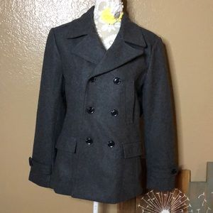 H&M 36R Gray Coat